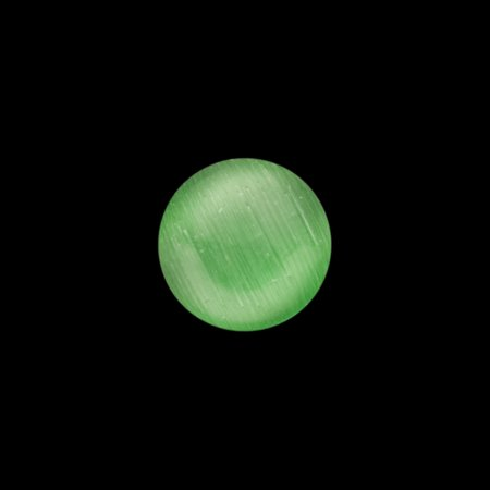 30pcs Round Emerald Green Cat's Eye Glass Cabochons Embellishments 8mm (Glass Eye Cabochons)