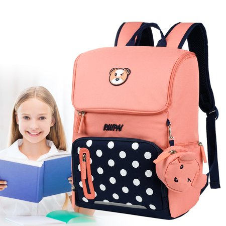 00aa18456ceb Vbiger Unisex Student Backpack Stylish Children School Bag Multi-functional  Book Bags Practical Kids Shoulders