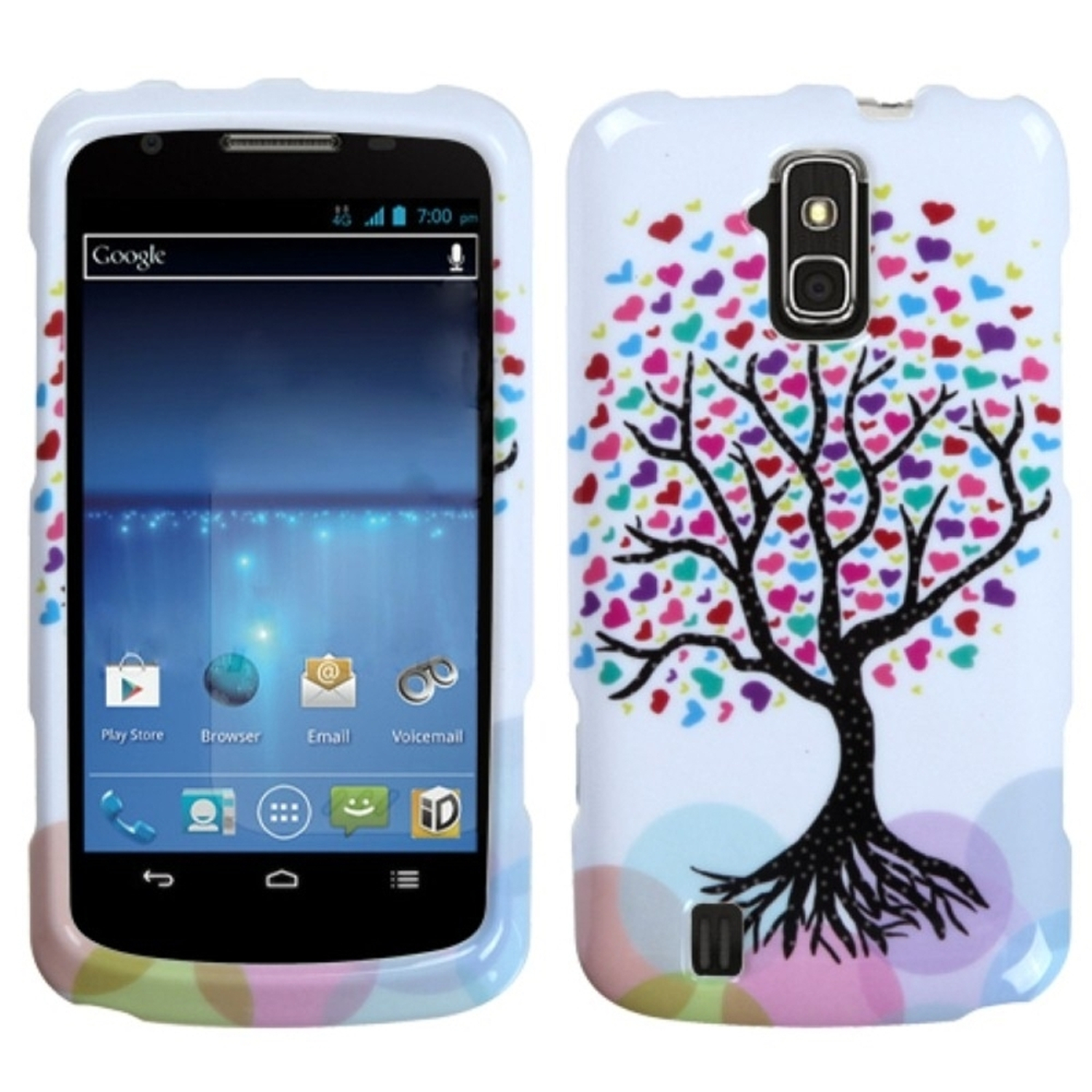 Insten Love Tree Phone Protector Case Cover For ZTE N9100 Force