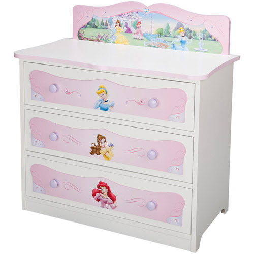 Incroyable Disney Princess 3 Drawer Dresser   Walmart.com