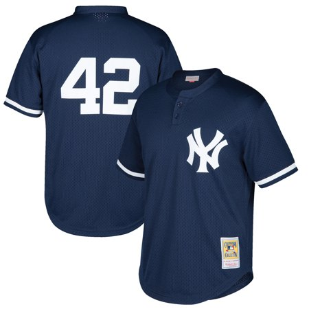 more photos 76bab 542be Mariano Rivera New York Yankees Mitchell & Ness Youth Cooperstown  Collection Mesh Batting Practice Jersey - Navy