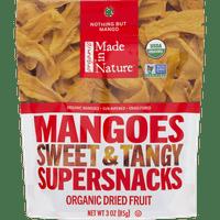 Made in Nature Organic Dried Fruit, Mangos, 3 Oz
