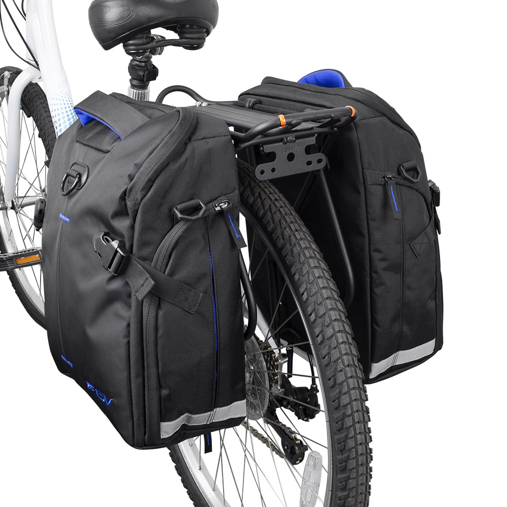 Bicycle Touring Carrier with Fender Board Frame-Mounted for... Ibera Bike Rack
