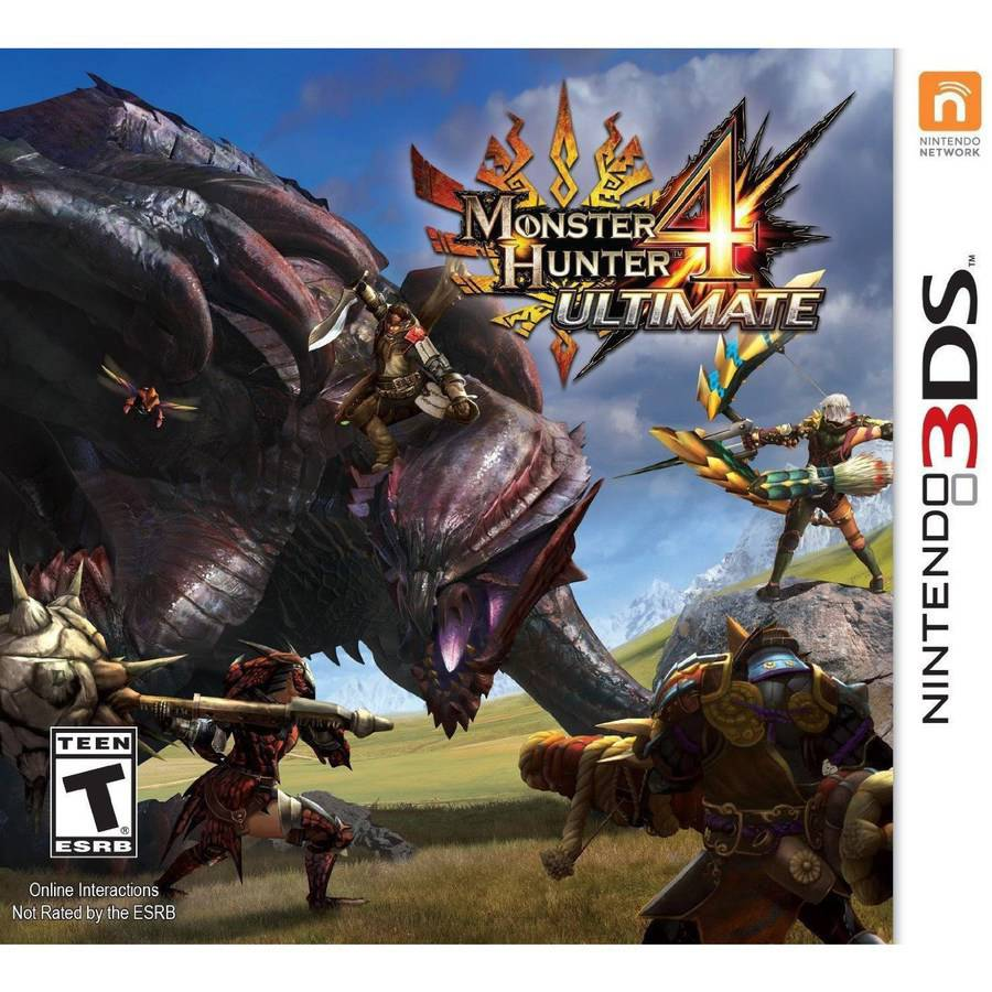 Monster Hunter 4 Ultimate (Nintendo 3DS) - Pre-Owned