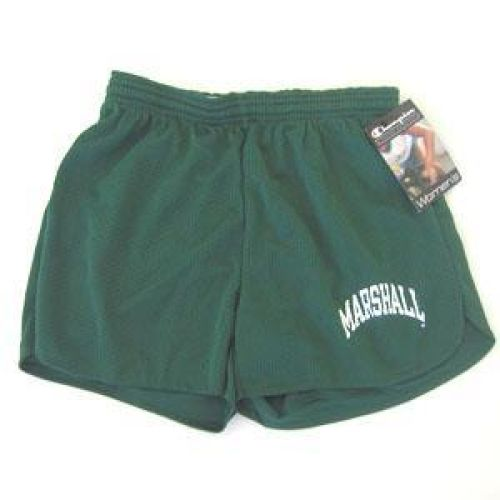 Marshall Thundering Herd Shorts For Women - Mesh Shorts By Champion