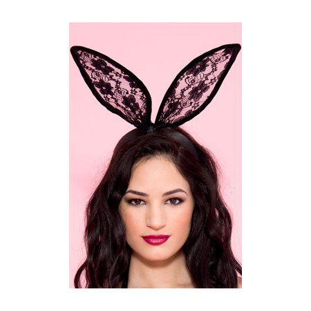 Lace Bunny Ears Headband (Bunny Head Band)
