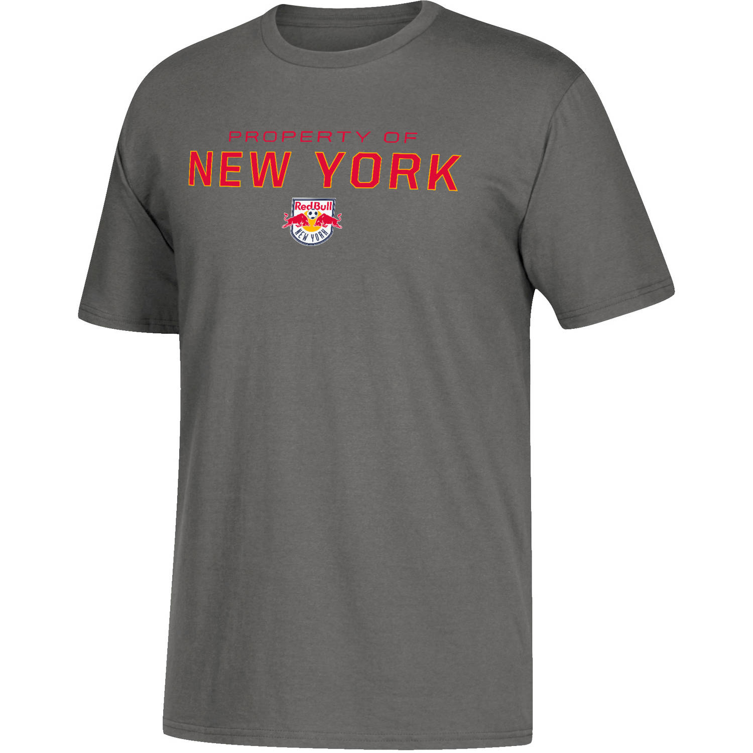 MLS-NY Red Bulls-Men's Dedicated Performance Tee