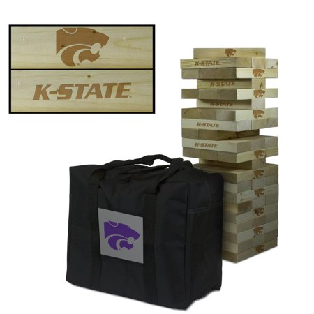 Kansas State University Wildcats Giant Wooden Tumble Tower Game