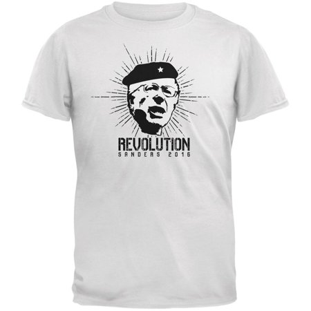 Election 2016 Bernie Sanders Che Guevara Parody White Adult T-Shirt for $<!---->