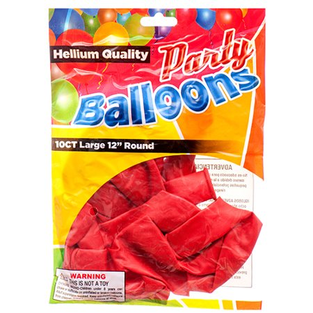 New 376775  Balloon Standard Red 12