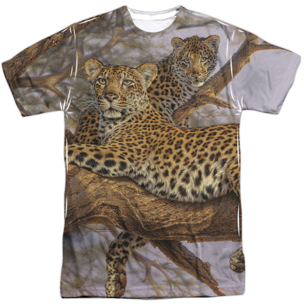 Wild Wings Men's  Family Tree  Sublimation T-shirt White