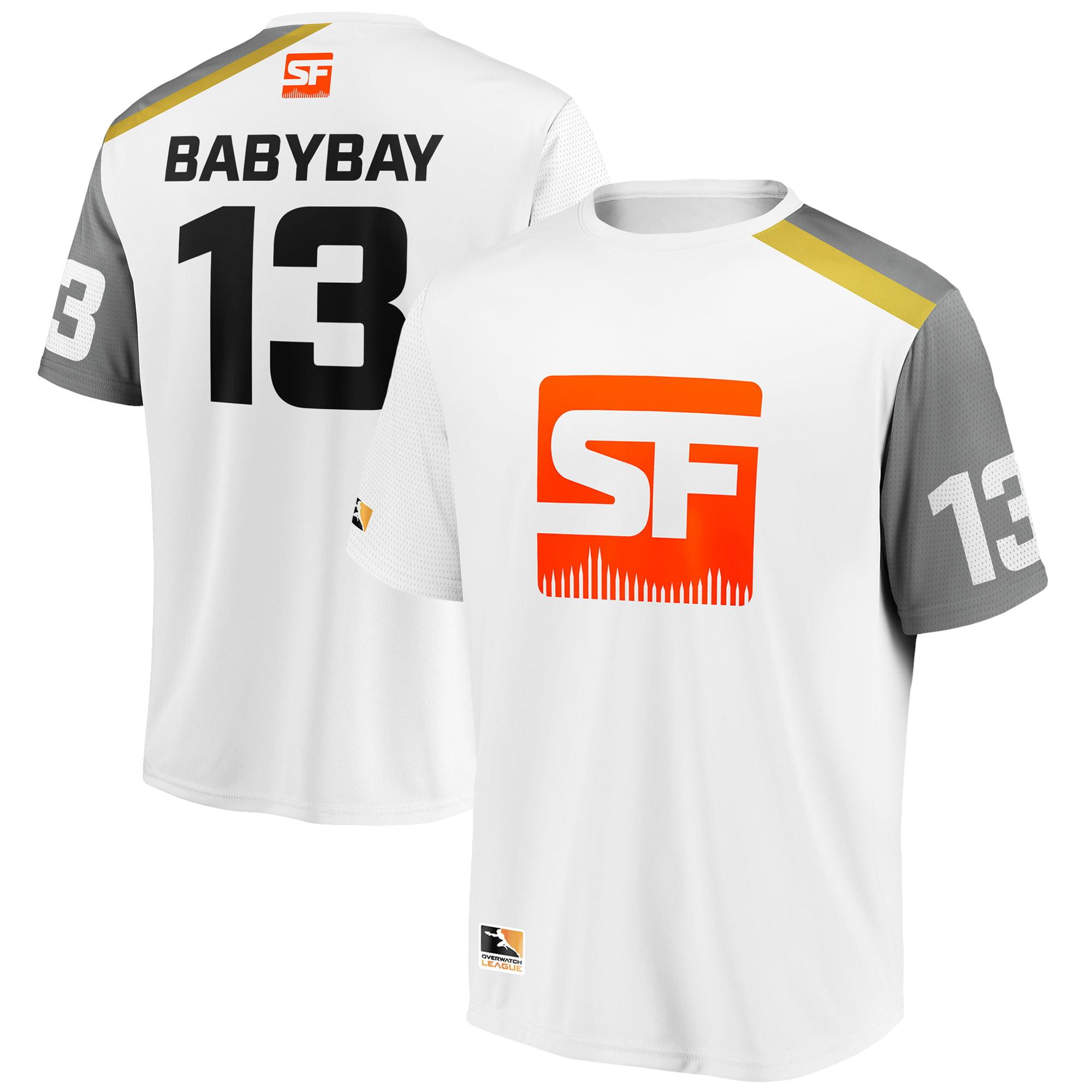 babybay San Francisco Shock Overwatch League Replica Away Jersey - White