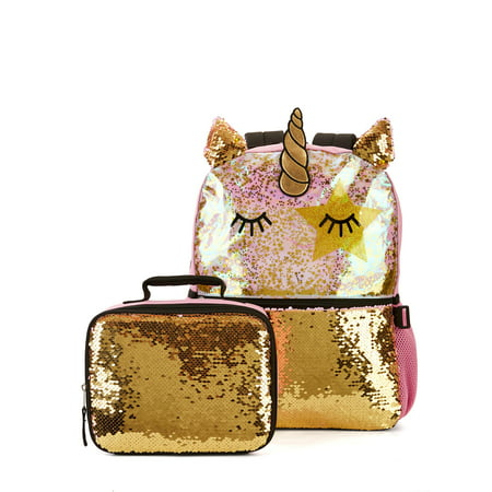 Wonder Nation Unicorn Love Backpack With Lunch
