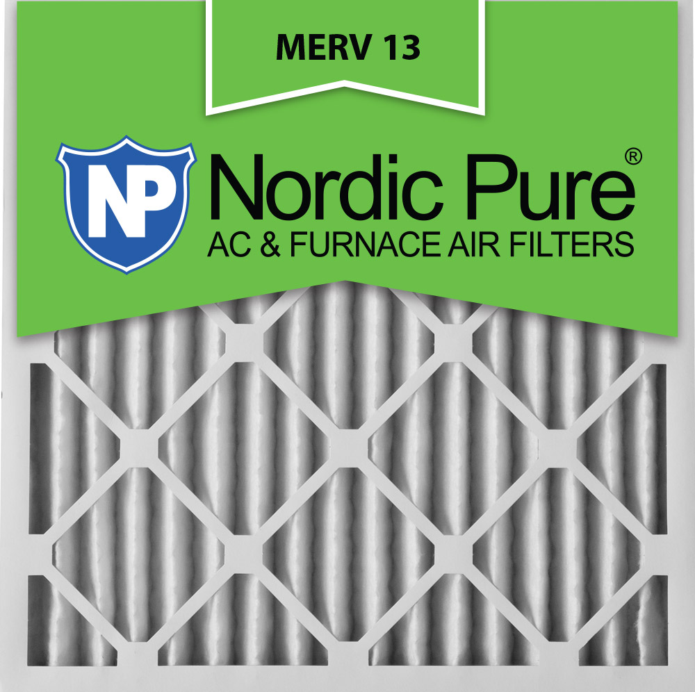 24x24x2 Pleated MERV 13 AC Furnace Air Filters Qty 3