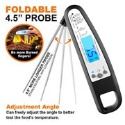 Best Digital Food Thermometers - Instant Read Digital Thermometer for Meat, Food, Oven Review