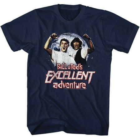 Bill & Ted's Excellent Adventure Teen Words Movie Adult T-Shirt Tee - image 1 de 1