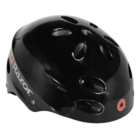 Razor V17 Multi-Sport Child's Helmet, Glossy Black
