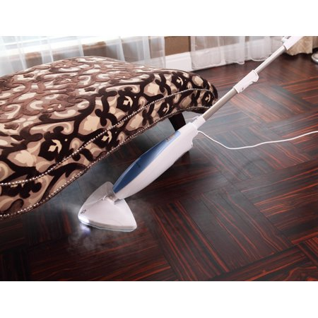 SALAV STM-402 Professional Multi-Surface Steam Mop with LED Lights, Stand By Mode, 1100-Watt, Blue