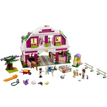 LEGO® Friends Sunshine Ranch with Minifigures Liza, Maya, and Animals |