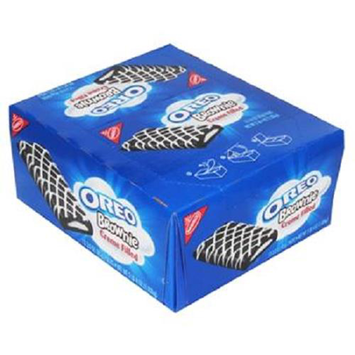 Nabisco Oreo Brownies Creme Filled 12 Ct of 3 Oz by