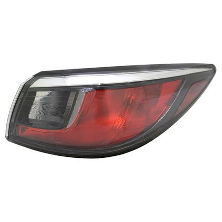 TYC 11-6857-00-1 Tail Light Lamp Rear Right Passenger RH Outer Halogen New Warranty 01 Rh Tail Lamp