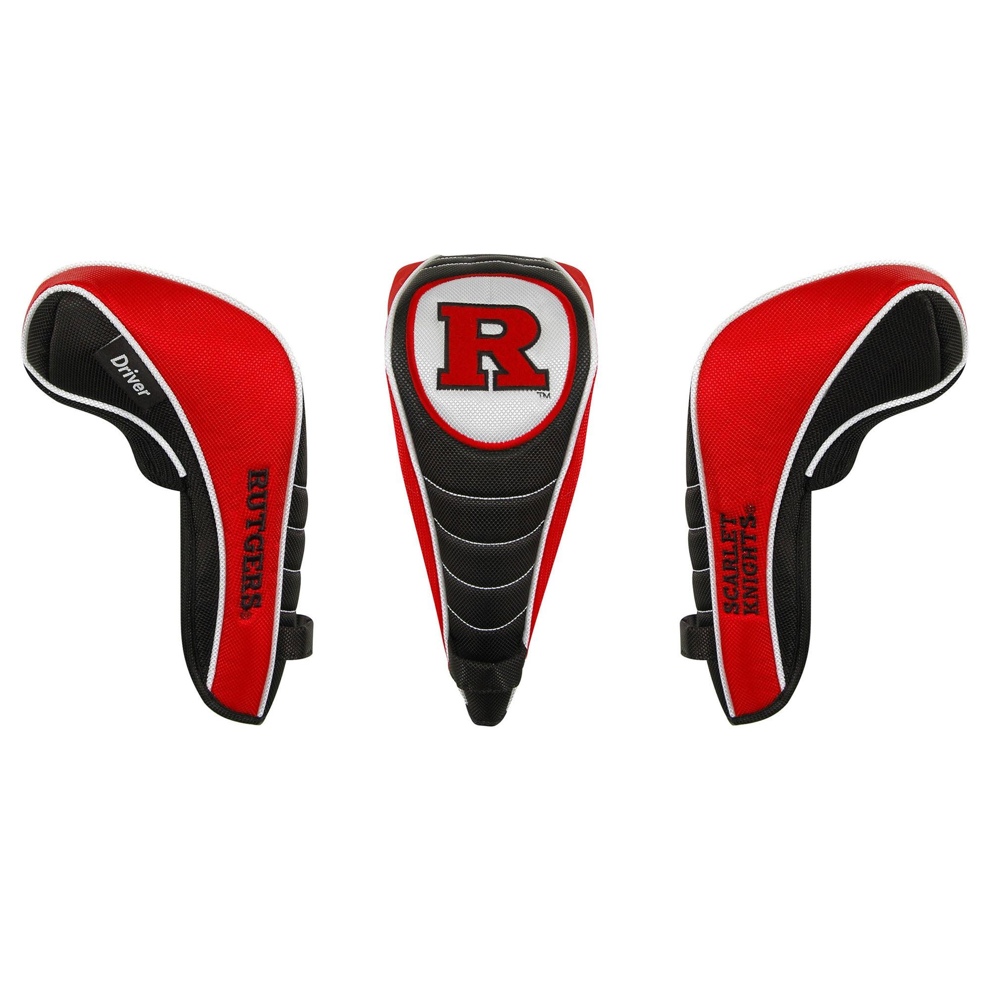 Team Effort Rutgers Scarlet Knights Golf Driver Headcover