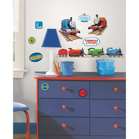 Thomas The Tank Engine Peel And Stick Wall Decals, 33 Count
