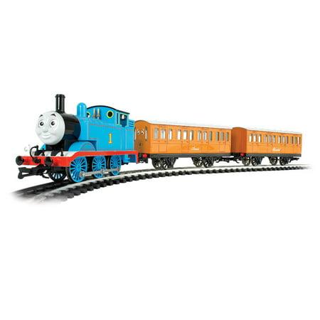 Bachmann Trains HO Scale Thomas with Annie & Clarabel Ready To Run Electric Train Set ()