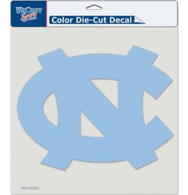 "North Carolina Tar Heels Die-Cut Decal - 8""x8"" Color"