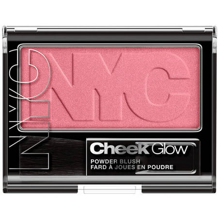 - Nyc new york color cheek glow powder blush, 0.28 oz