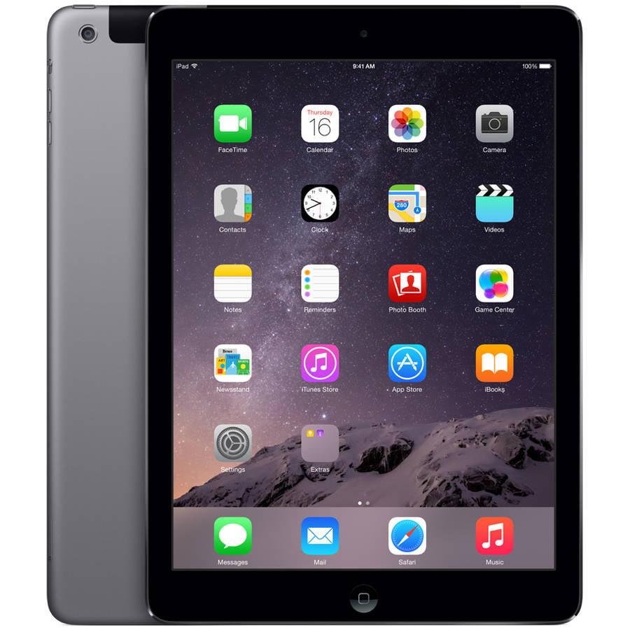 Apple iPad Air 16GB Wi-Fi + Sprint, Space Gray, Refurbished