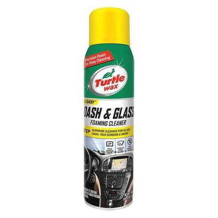 TURTLE WAX INC Dash & Glass Foaming Cleaner, 19-oz. 50599