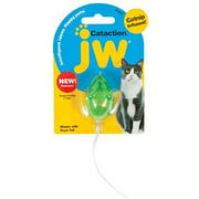 JW Pet Cataction Mouse with Bell & Tail Multi-Colored