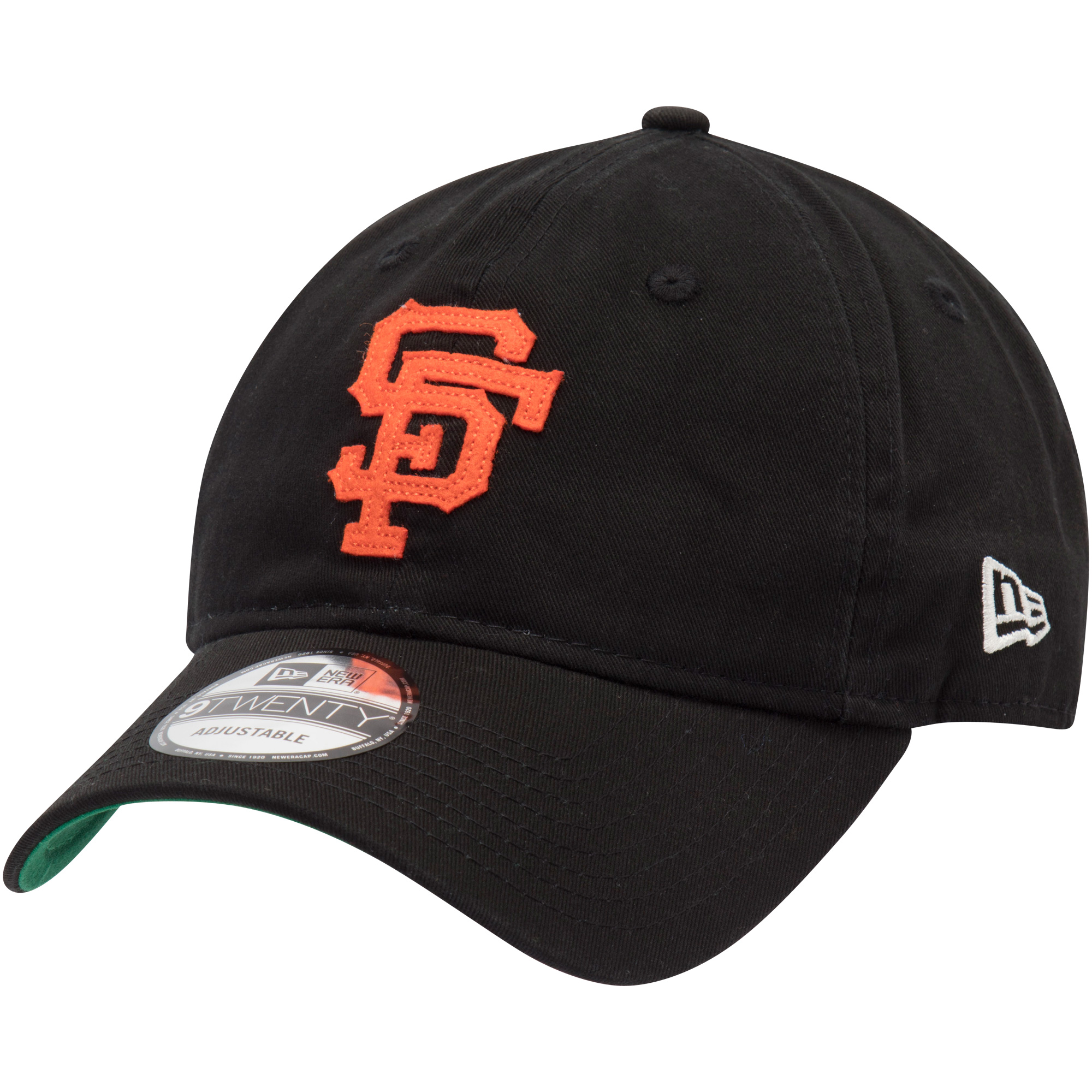 San Francisco Giants New Era Cooperstown Inaugural Season 9TWENTY Adjustable Hat - Black - OSFA