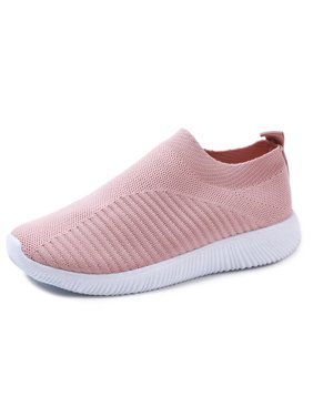 DYMADE Women's Athletic Walking Shoes Casual Mesh-Comfortable Work Sneakers