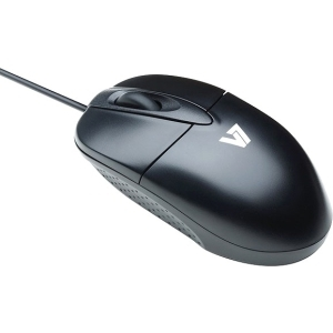 V7 3-Button USB Optical Mouse with Scroll Wheel 1000 DPI