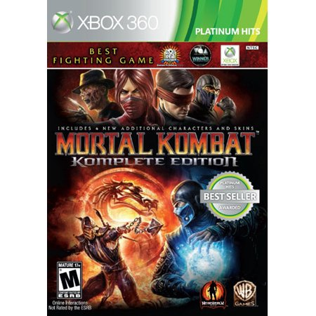 Mortal Kombat: Komplete Edition, Warner Bros, Xbox 360