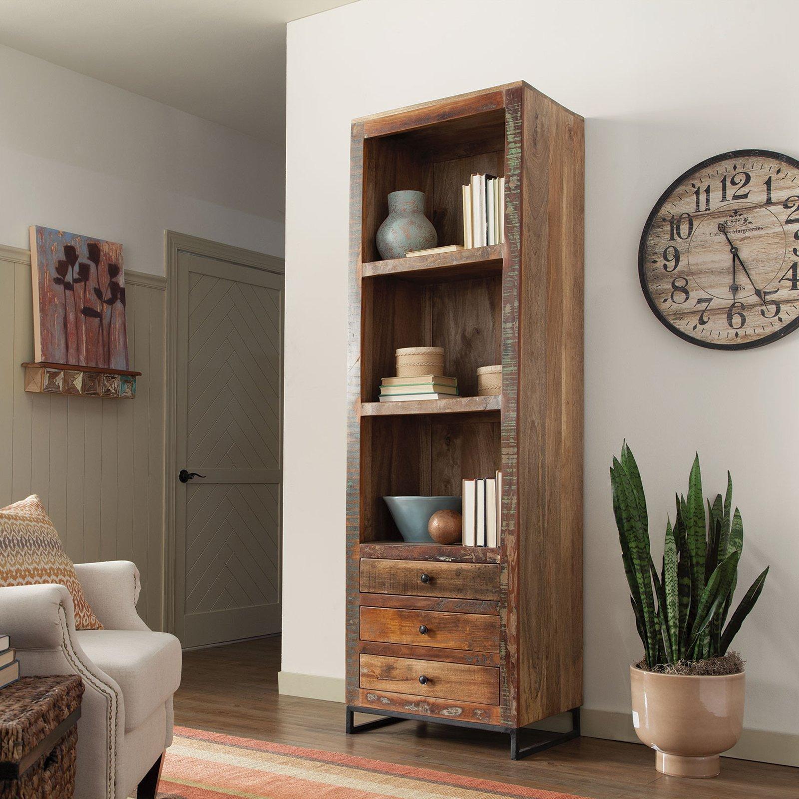 Coaster Company Bookcase, Reclaimed Wood