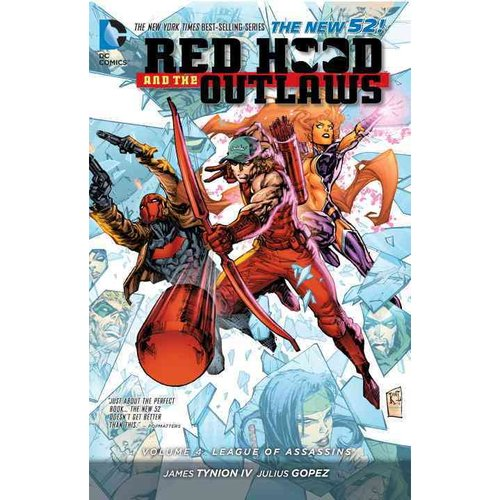 Red Hood and the Outlaws 4: League of Assassins