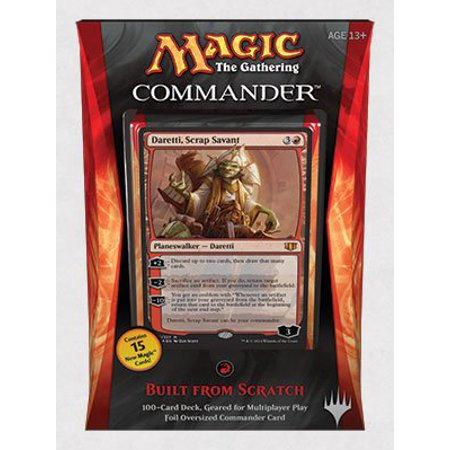 Magic The Gathering Commander 2014 Built From Scratch Deck  From Usa Brand Zorbitz Inc