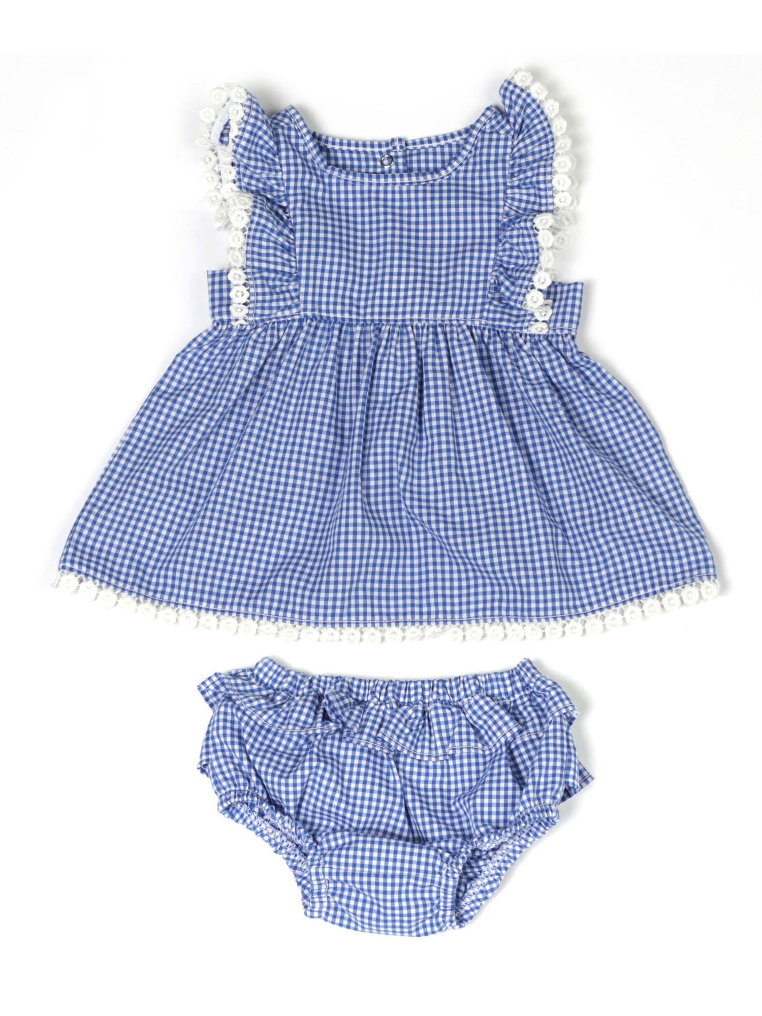 Blue Checker (Baby Girls)