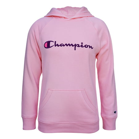 Champion Girls Classic Logo Fleece Hoodie, Sizes 7-16