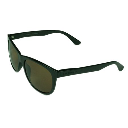 Serengeti  Fashion Unisex Ostuni 8359 Shiny Black w/ Polarized Drivers Lens (Serengeti Nuvola)
