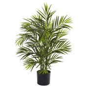 Nearly Natural 2-1/2' Areca Palm, UV Resistant, Indoor and Outdoor