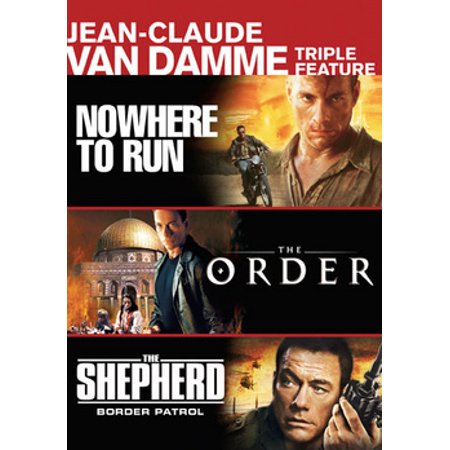 Jean Claude Van Damme Triple Feature (DVD)