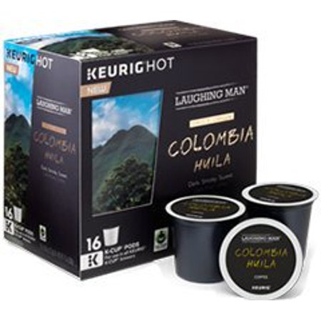 Laughing Man Colombia Huila Coffee Keurig K-Cups, 96 Count ...