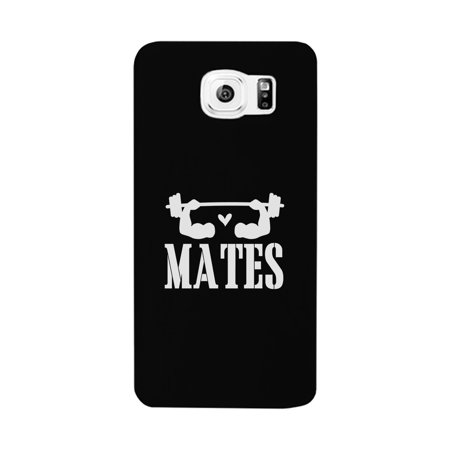 Ihx Mobile (Swole Mates-RIGHT Phone Case Funny Workout Cover Cute Gym Gifts )