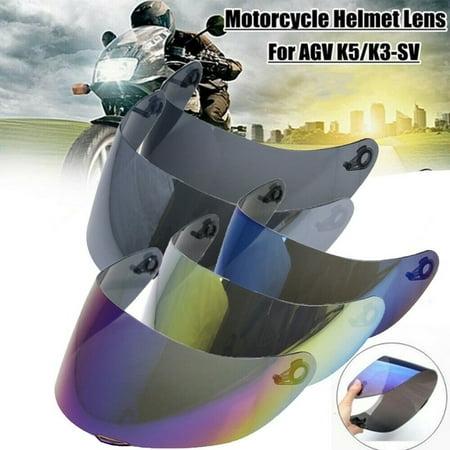 1Pcs Motorcycle Helmet Visor Lens Windshield Replacement For AGV K3SV -