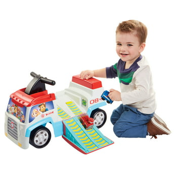 Paw Patroller Ride on Includes Chase and Marshall Mini Vehicles