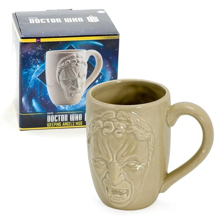 Doctor Who Weeping Angel 12oz Molded Mug